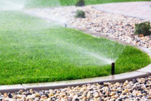 lawn water sprinkler