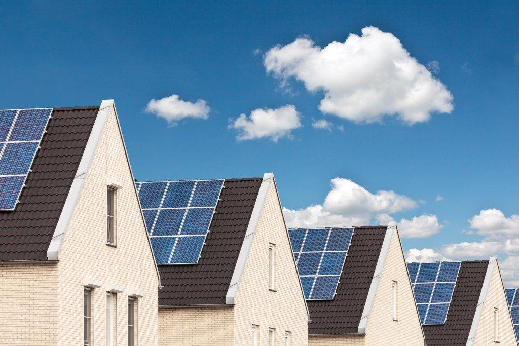 solar panel roofs