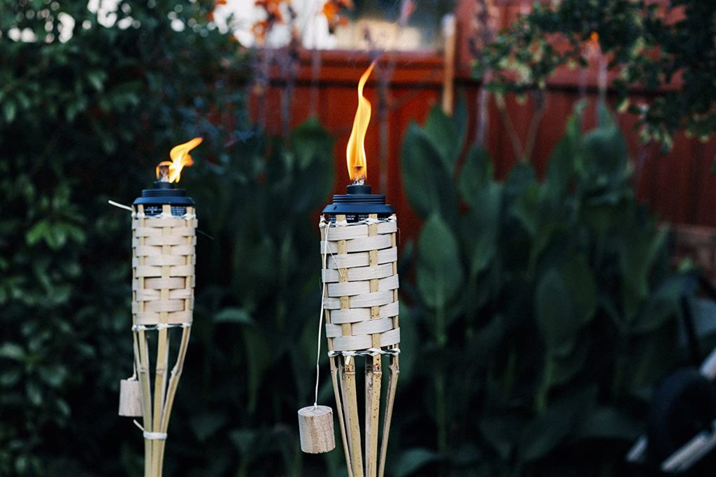 57 inch bamboo torches